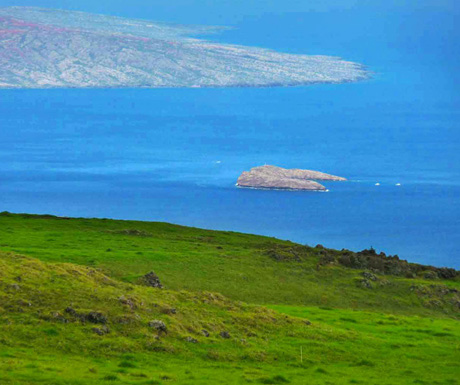 Molokini Crater View from Ulupalakua