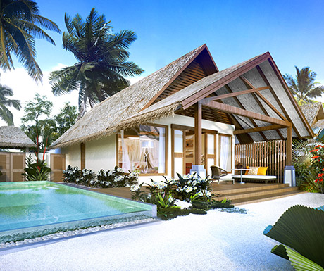 Ozen by Atmosphere Earth Villa, Maldives