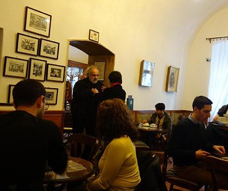 Ruszwurm coffee shop, Budapest