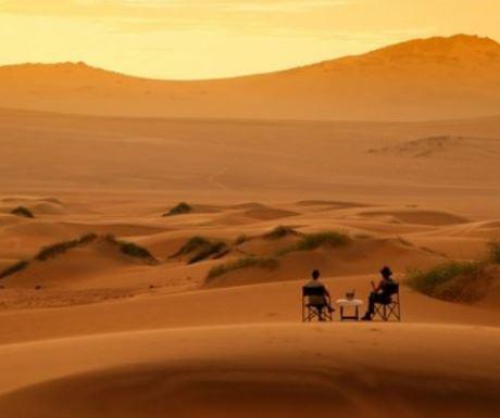 Serra Cafema Sundowners On A Dune