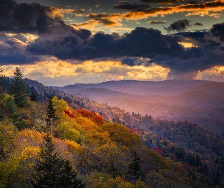 Smoky Mountains at Dawn