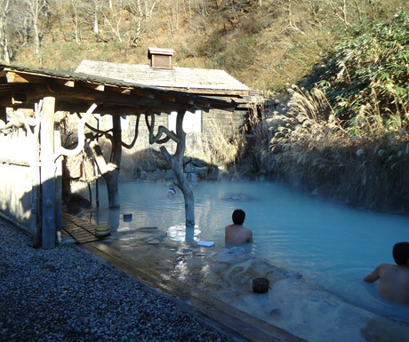 The-milky-waters-of-Nyuto-Onsen
