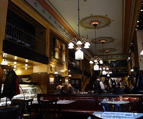 cafe central, Budapest