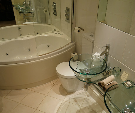 Bathroom at Goldsborough Hall