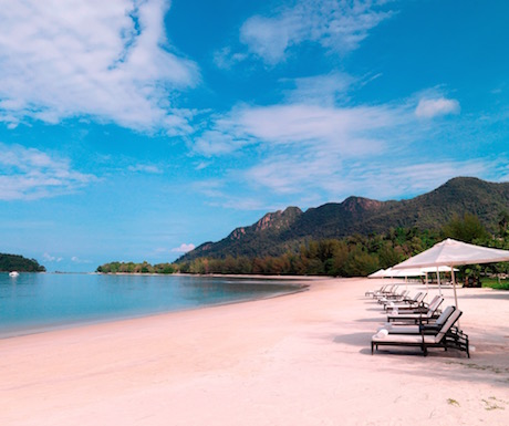 Beach at The Danna Langkawi