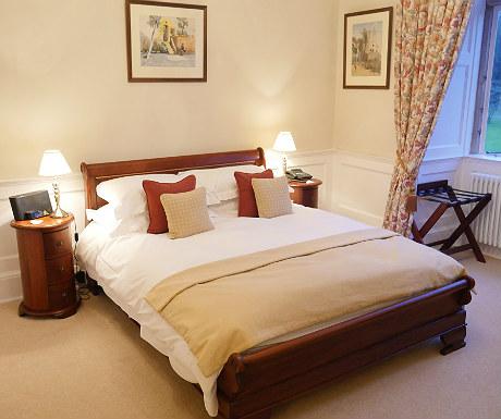 Bedroom at Goldsborough Hall