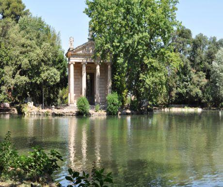 Borghese Gardens edited