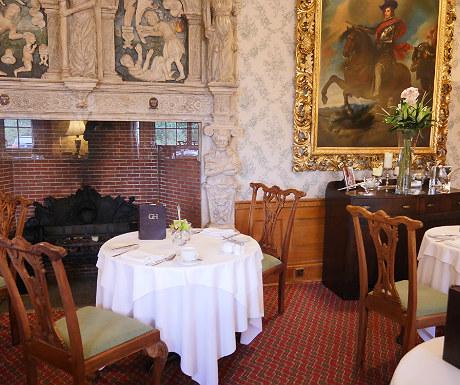 Breakfast room at Goldsborough Hall