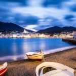 Cadaques Catalonia at night