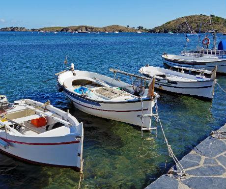 Cadaques fishing boats