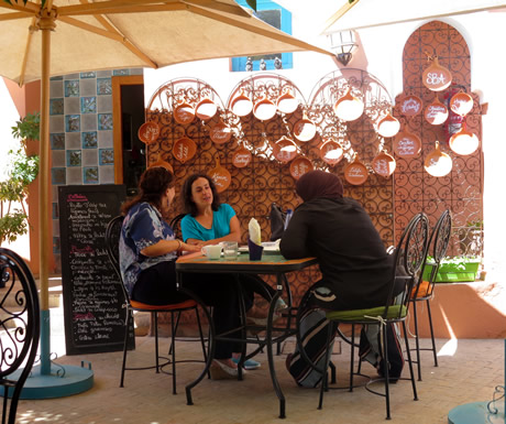 Dining Area at Amal Association in Marrakesh