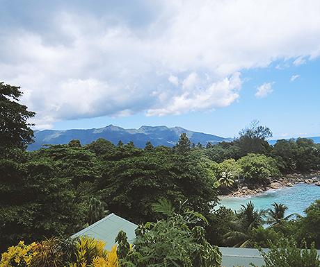 The main island of Mahe