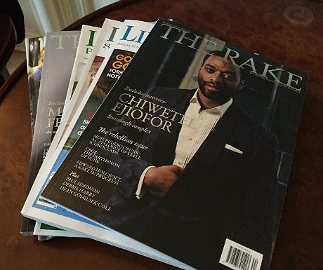 Magazines at Goldsborough Hall