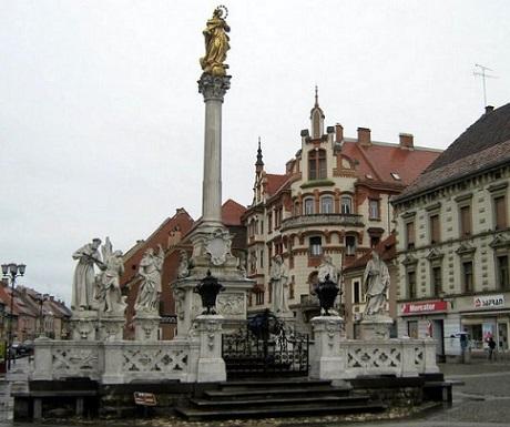 Maribor monument square Slovenia