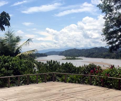 Minga Lodge on the Napo River