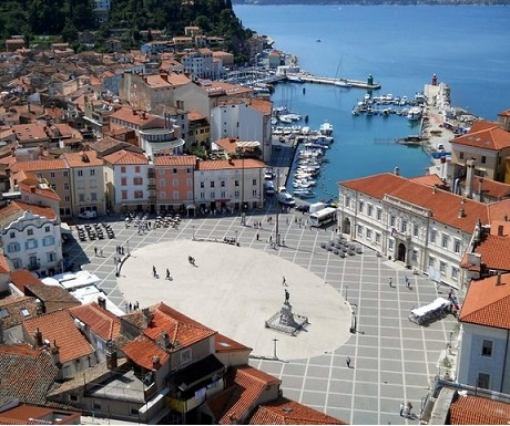 Piran view from city walls
