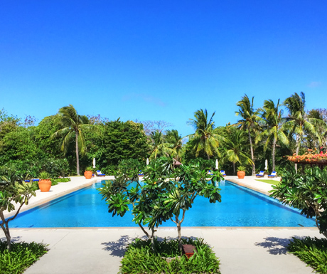Amanpulo Clubhouse Pool