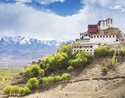 Thiksey Monastery just outside the captital of Ladakh, Leh, northern India