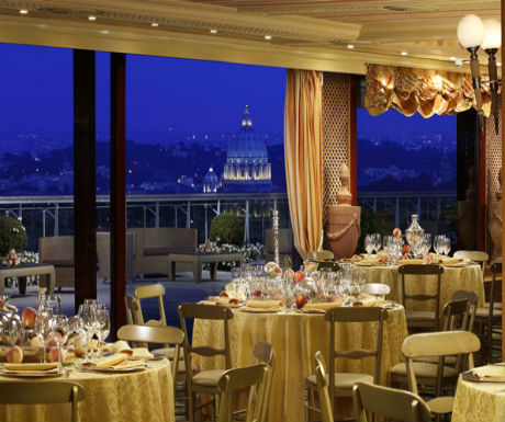 luxury rome la pergola