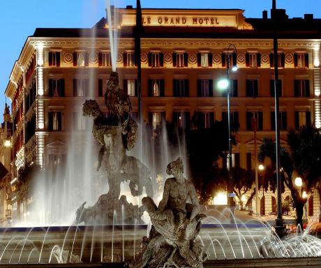 luxury rome regis hotel