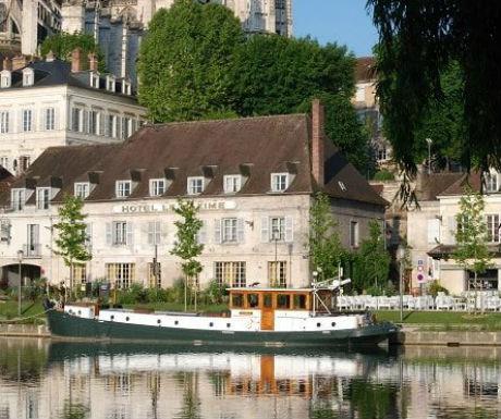 Auxerre luxury barge cruise