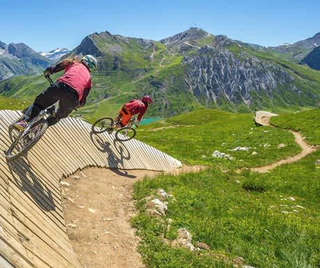 Fun for all family - Adrenaline rush in Tignes