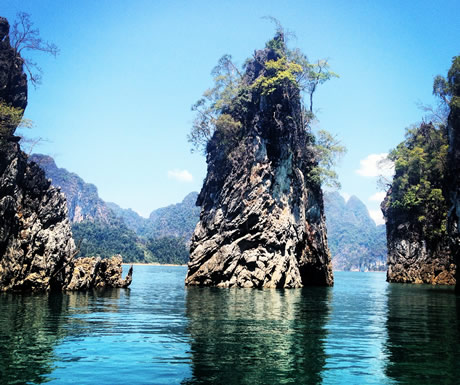 Chao Larn Lake in Thailand