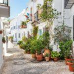 Frigiliana Spain beautiful cobbled street