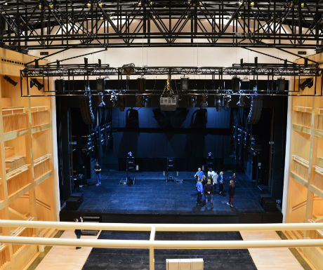 Gdansk Shakespeare Theatre stage