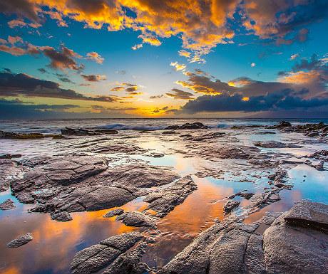 Kapaula beach sunset, Maui