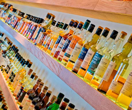 Rows of Whisky