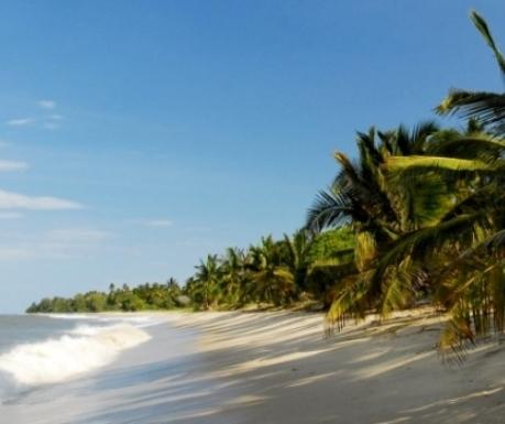 Tanzania beach from Tides Lodge