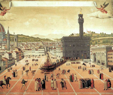 first time florence history