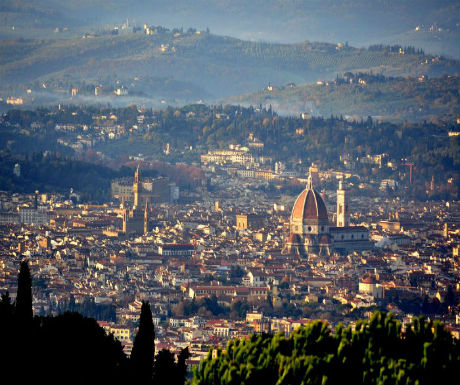 first time florence view