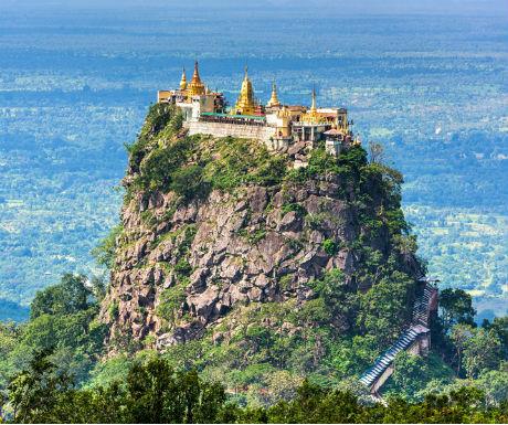 Amazing Myanmar-Mount Popa