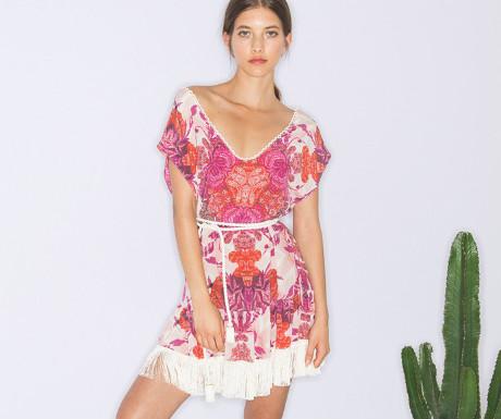 Boho romantico dress from Athena Procopiou