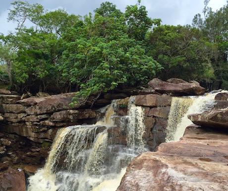 Bokor National Park - waterfall