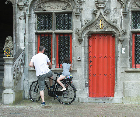 Bruges cycling