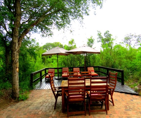 Deck at Little Bush Camp