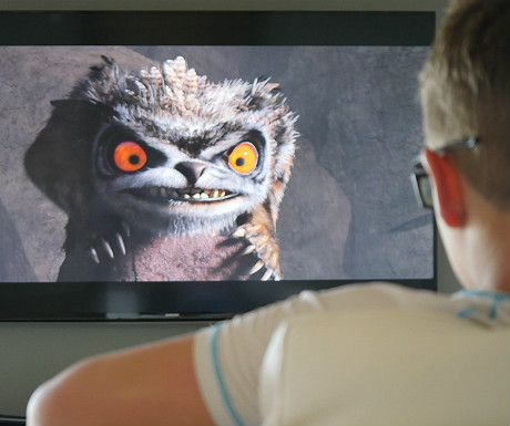 Elounda Villa 3D TV