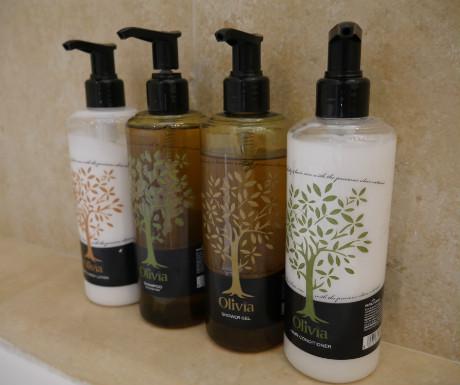 Elounda Villa bathroom amenities