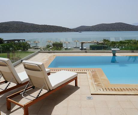 Elounda Villa pool