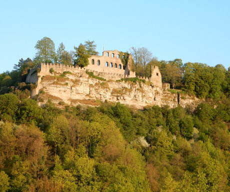 Germany ruined castle