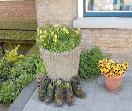 Holland shoe planter