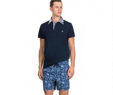 Paisley swim shorts from Etro
