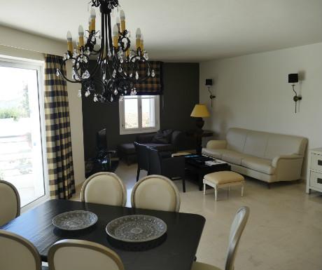 Villa Erato living space