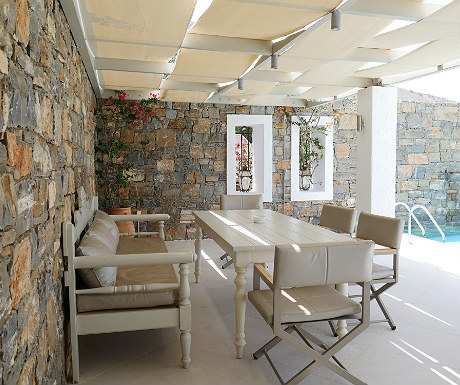 Villa Erato outdoor space