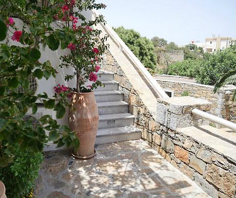 Villa Erato steps