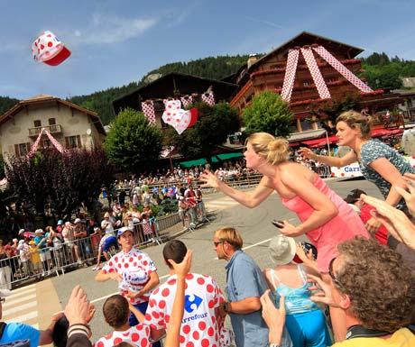 Megeve Tour De France