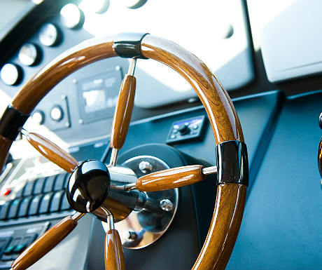 Yacht steering